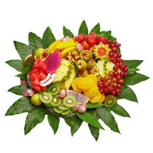 פרוטיז סלסלת פירות חתוכים