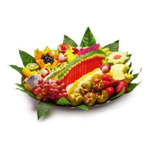 מגש פירות גדול ליום האהבה