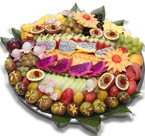 מגש פירות סוכות XXL