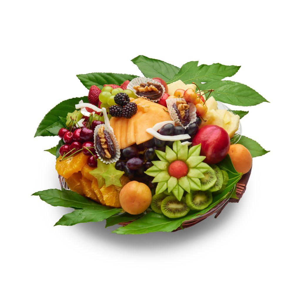 סלסלת פירות טרופיים