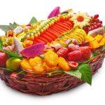 סלסלת פירות- שפע של בריאות