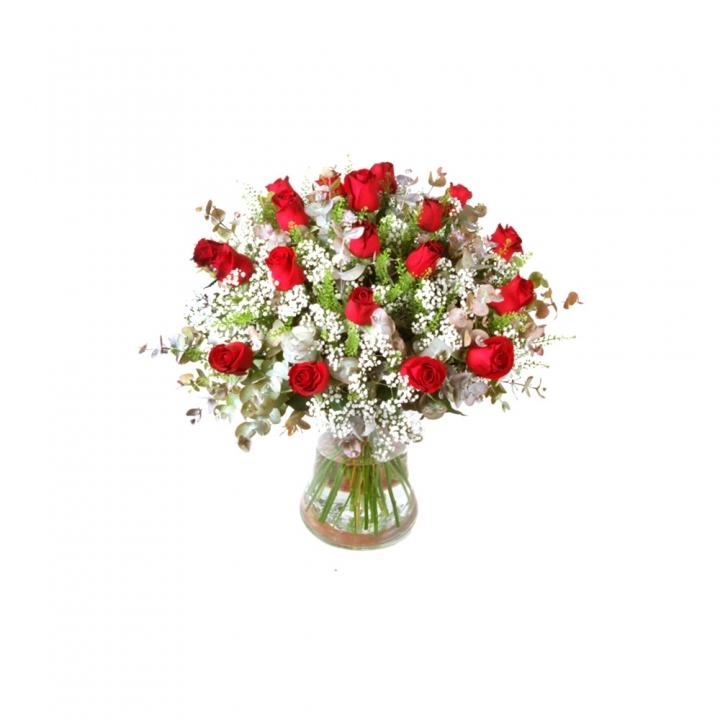 זר פרחים אהבה גדולה