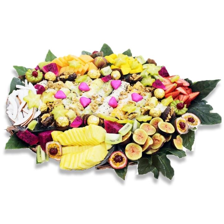 סלסלת פירות אהבה ענקית