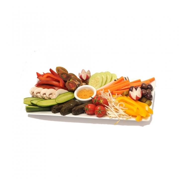 עיצוב פלטת ירקות
