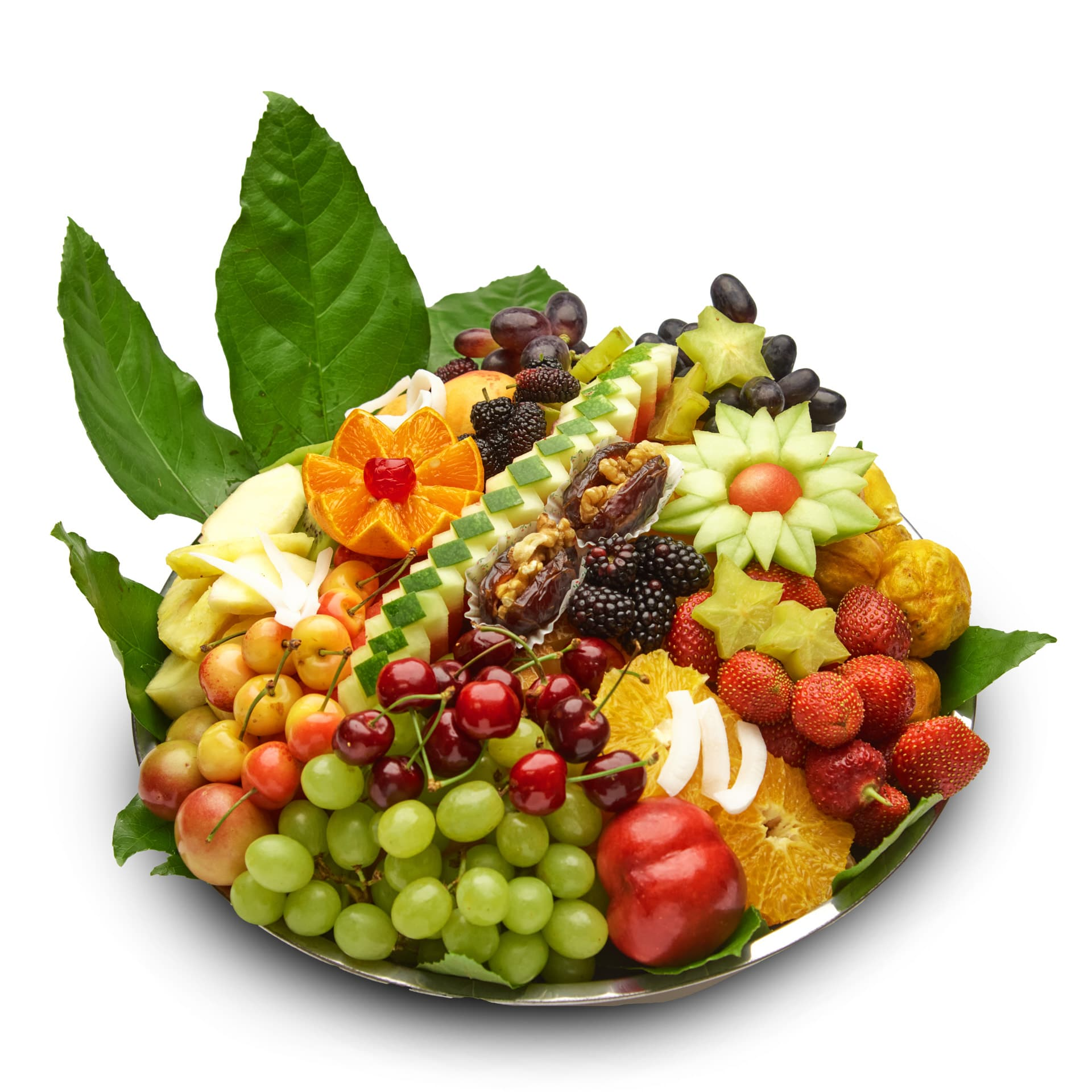 """מגש פירות פרוטיז ט""""ו בשבט M"""
